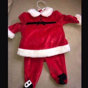 Baby Santa Clause Outfit